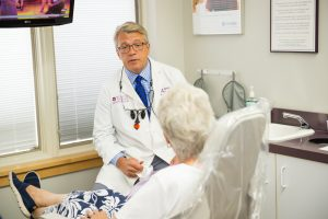 Dr Ed White of White Family Dental cares for the special dental needs of seniors at Masonic Village in Elizabethtown.