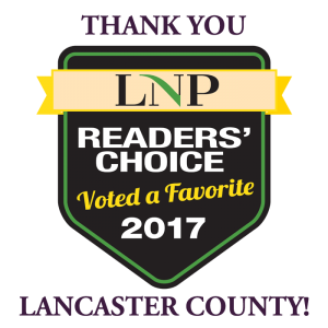 Thank you Lancaster County for voting White Family Dental a favorite dental practice in the readers choice survey of Lancaster Online and Lancaster Newspapers in 2017