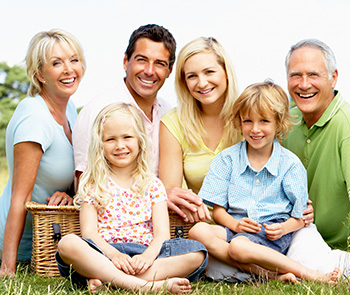 General dentistry is comfortable for all generations when they visit White Family Dental