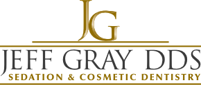 Logo for Jeff Gray DDS Smiles San Diego, CA.