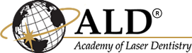 Logo for Academy of Laser Dentistry, from which Dr Kristin Buehler received honors upon graduation as a DDS