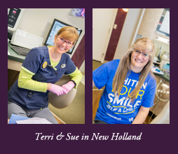 Terri and Sue of White Family Dental in New Holland