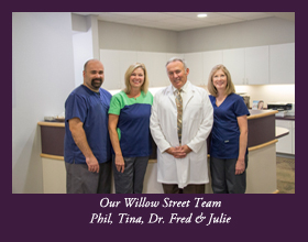 The team of White Family Dental in Willow Street